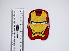 FREE POST * IRON MAN Embroidered Patch - Hot Iron-on Transfer Sew On