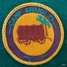 VINTAGE GIRL SCOUT  - CAMP ARNOLD PATCH