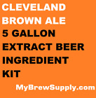 Cleveland Brown Ale Homebrew 5 Gal Beer Extract Ingredient Kit - My Brew Supply