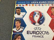 Lot de 10 vignettes panini Road to uefa EURO 2016 FRANCE parmi la liste