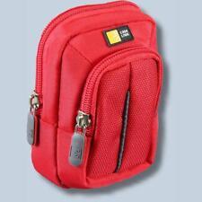 Fototasche Panasonic Lumix DMC-TZ81 TZ71 TZ58 TZ56 TZ25 TZ22 Tasche rot 32r