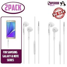 2pack OEM for Samsung Galaxy S3 S4 S5 S65 S6 Note 5 In-Ear Headphones W/ Mic