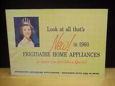 Vintage New in 1960 Frigidaire Home Appliances Brochure