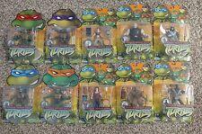 2004 Used TMNT Ninja Turtles Lot (10): April, Splinter, Shredder, Hun, + more!