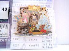 DISNEY PTU PIN TRADING UNIVERSITY EVENT 2008 LE 500 HOME EC CLASS CINDERELLA #48