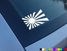 JDM FLAG RISING SUN FUNNY CAR STICKER DECAL DRIFT WINDOW JAP BUMPER LAPTOP