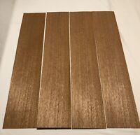 "7 Sq Ft Alder Wood Veneer 3 Sheets 1//16"" Thick 38"" X 9"""