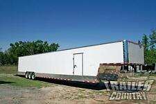 NEW 2018 8.5X52 8.5 X 52 ENCLOSED GOOSENECK CARGO CAR HAULER TOY TRAILER LOADED