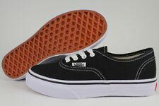 d4e468afe714 VANS Authentic Kids Vn000wwx6bt Black True White Canvas Shoes Medium Youth  Blacks 4