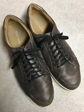 Cole Haan Mens Brown Leather Lace Up Casual Sport Shoes Size Sz 12 Medium Med M