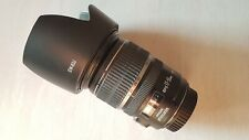 Canon EF-S 17-55mm 1:2 .8 IS USM (good) with Sun Hood, sold as-is