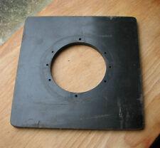 earlier Devere 10 x 8 enlarger Lens board used 15cm sq
