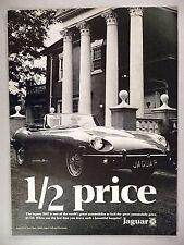 Jaguar XKE PRINT AD - 1969