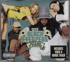 The Black Eyed Peas-Lets Get It Started cd maxi single