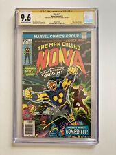 Nova #1 CGC 9.6 NM+ 2x SS Stan Lee Joe Sinnott Signatures Key Movie Rumor
