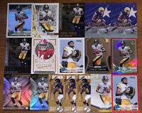 (17) DIONTAE JOHNSON 2019 RC ROOKIE FOOTBALL CARD LOT OPTIC,PRIZM, PARALLELS ++