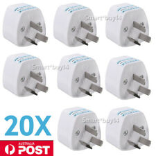 20X UK European US Universal to AU Australia Power Plug Travel Adaptor Converter
