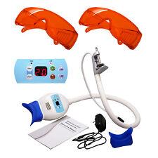 Electric Dental Whitening Lamp Teeth Bleaching System Led Light Amp2 Goggles Glass