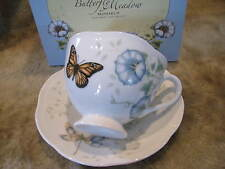 Lenox Butterfly Meadow Monarch Cup & Saucer  - new in the box