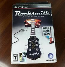 Rocksmith PS3 Sony PlayStation 3 - 2011 - New in Box - Real Tone Cable Included