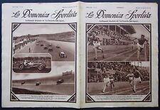 1931 DOMENICA SPORTIVA Gran Premio Reale Roma Littorio Ernesto Maserati Tipo V4