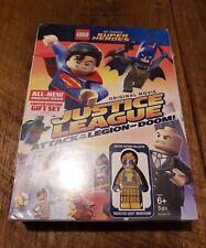 LEGO DC Comics Justice League Attack of the Legion of Doom DVD W/ Figurine