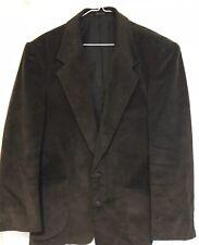 Mens Members Only Corduroy Blazer Brown 42R Sports Jacket