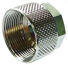 QLN06/M8 Aignep Quick NP Brass Locking Nut Tube OD 6mm x Metric Thread M8 X 0.75