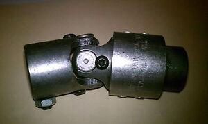 "Borgeson Steering Universal Joint Steel 3/4"" 36-Spline 1"" DD Vibration Damper"