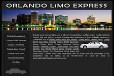 Transportation / Limo / Limousine Website for Sale
