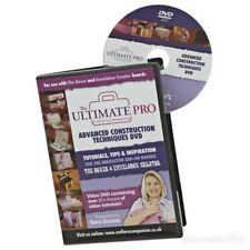 Ultimate Pro Advanced Techniques de construction DVD Par Crafter's Companion CD-ROM