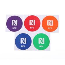 5pcs 888bytes Smart NFC Tags Stickers Decal for Sony Xperia Nexus NXP Samsung #3