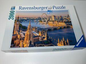 2000 TEILE PUZZLE STIMMUNGSVOLLES LONDON - RAVENSBURGER - RARITÄT