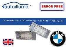 BMW E39 E60 E70 E82 E90 X3 X5 X6 Msport LED de luces de Licencia Número De Matrícula Canbus