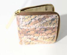 Womens wallet Union Jack coin print zip around wallet