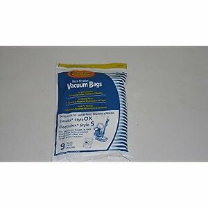 Electrolux Style S and OX Harmony Canister Envirocare 9 Vacuum Bags # 135-9