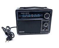 Vintage Channel Master Solid State AM FM Radio Model
