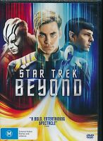 Star Trek Beyond DVD NEW Zachary Quinto John Cho Region 4 PAL