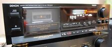 Denon DRM-800A Amorphous 3 Head Cassette deck Great Condition,The original pack.