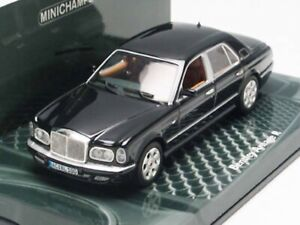WOW EXTREMELY RARE Bentley Arnage R S2 RL 6.75 16V 2001 Black 1:43 Minichamps/GT