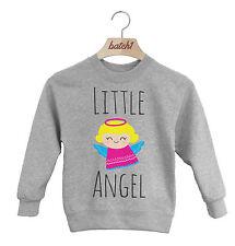 batch1 Little Angel niña regalo Navidad Festivo Navidad infantil Jersey Sudadera