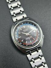 Vintage Original SEIKO 6117-6410 Navigator Timer GMT WORKING