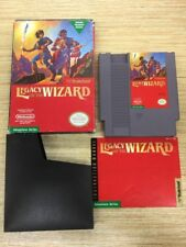 Legacy of the Wizard (Nintendo Entertainment System, 1989) IN BOX w/ MANUAL