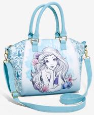 Loungefly Disney The Little Mermaid Ariel watercolor satchel bag handbag purse