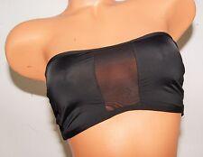 Victoria's Secret swim bikini top mesh details back strappy strapless sexy Small