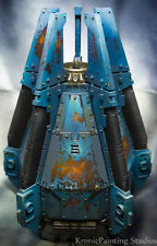 warhammer 40k 40,000 Ultramarines / Space Wolves drop pod pro painted