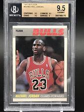 1987-88 Fleer Michael Jordan #59 BGS Graded 9.5 Gem Mint -9.5 Center 3x9.5 Sharp