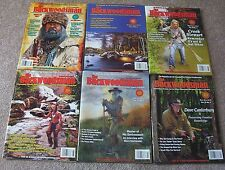 Backwoodsman Magazine _ 6 Back Issues _ 2015_ Survival In The Outdoors