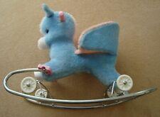 Vintage Clairbois Rocking/Ride-On Horse (Circa 1989)
