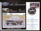 2000 FORD 75th ANNIV COV, 1967 FORD FALCON XR GT